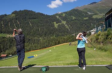 Golfen in Fiss