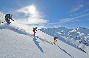 Skifahren in Fiss