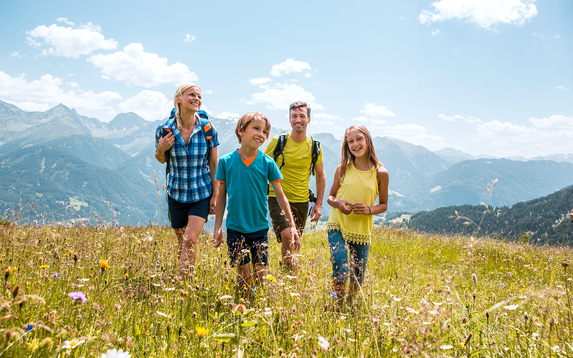 Familienparadies in Fiss in Tirol |