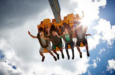 Skyswing im Sommerfunpark Fiss